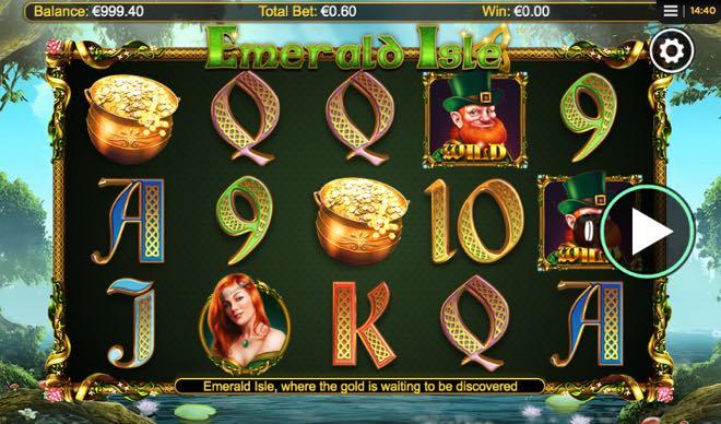 Emerald Isle spilleautomat fra NextGen Gaming
