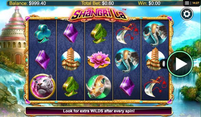 Shangri La Spilleautomat fra NextGen Gaming