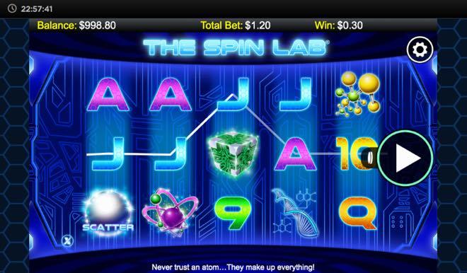 The Spin Lab Spilleautomat fra NextGen Gaming